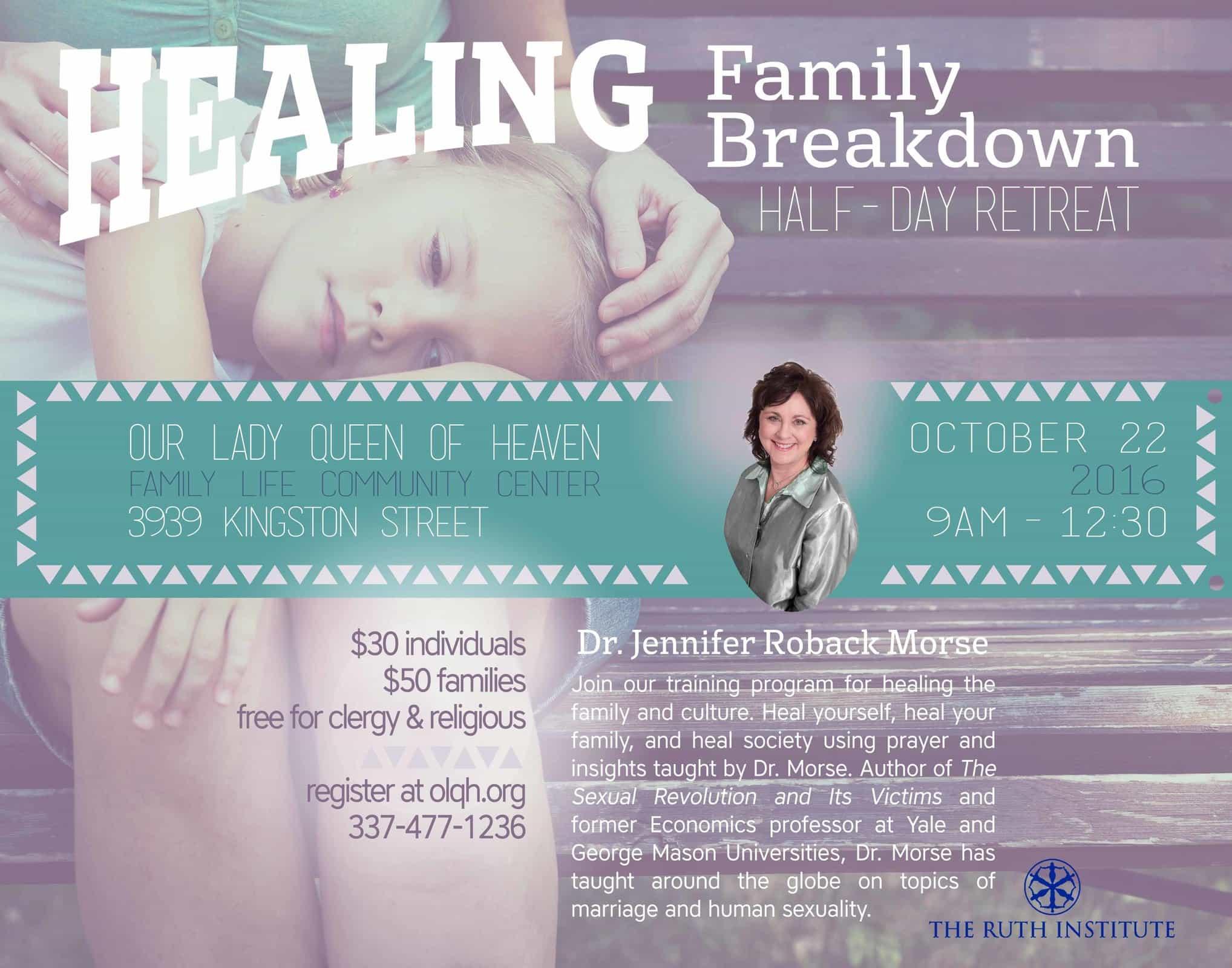 Healing Family Breakdown Retreat   Cajun Music Radio